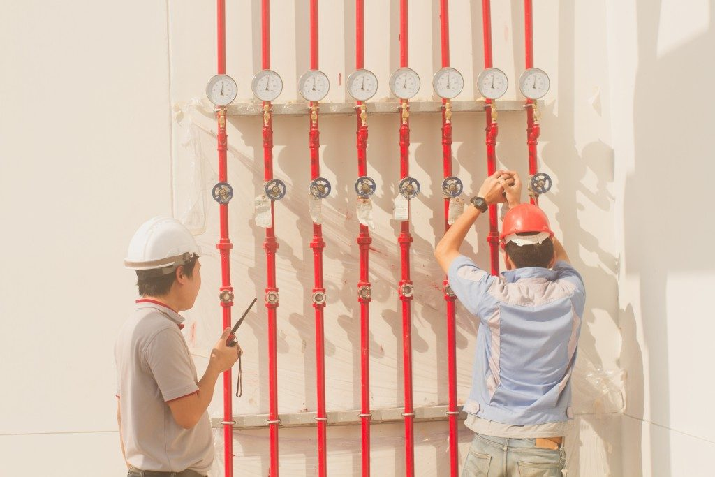 Maintenance fire prevention