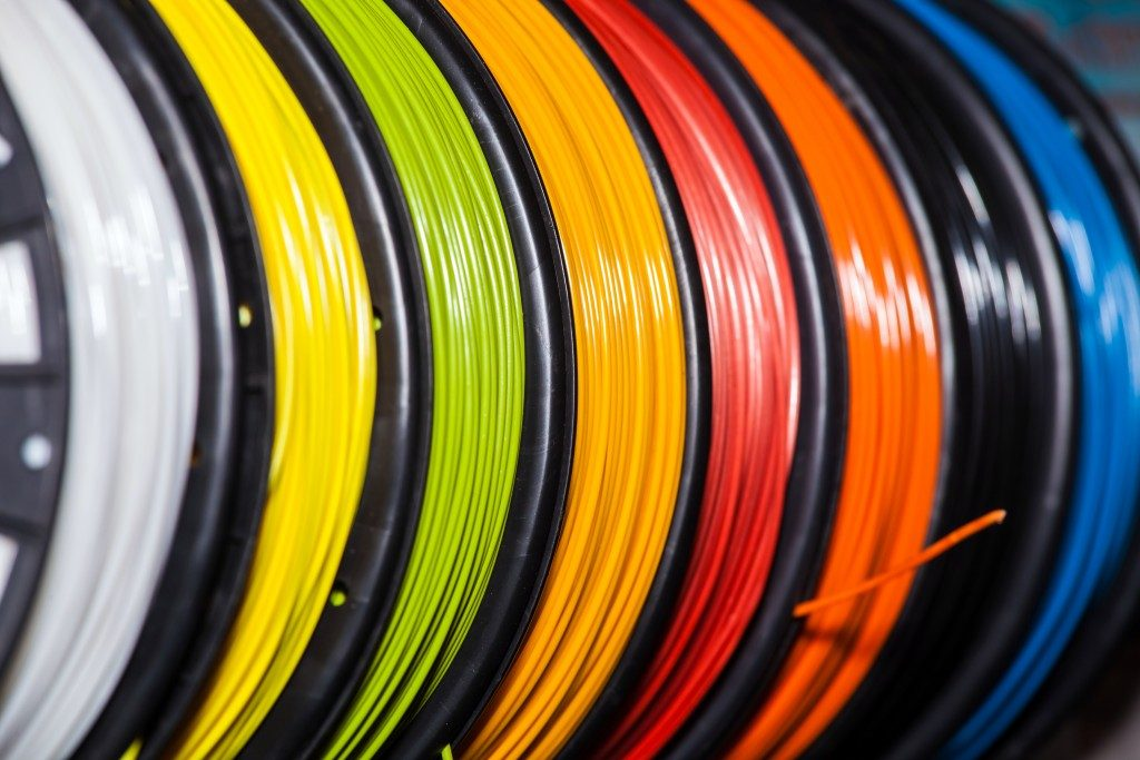 colored nylon strings