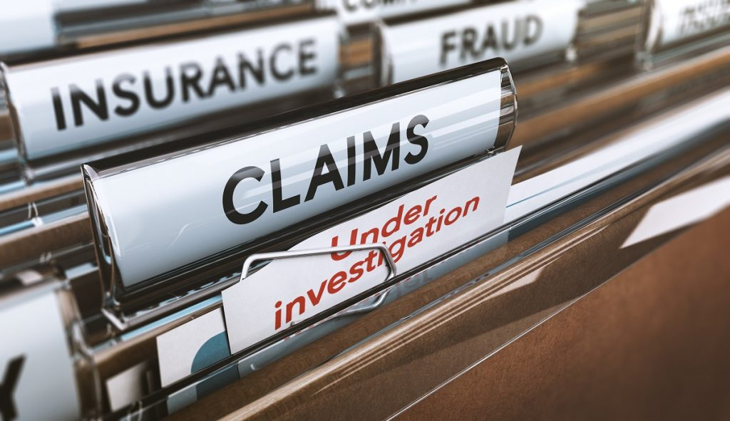 insurance fraud under investigation