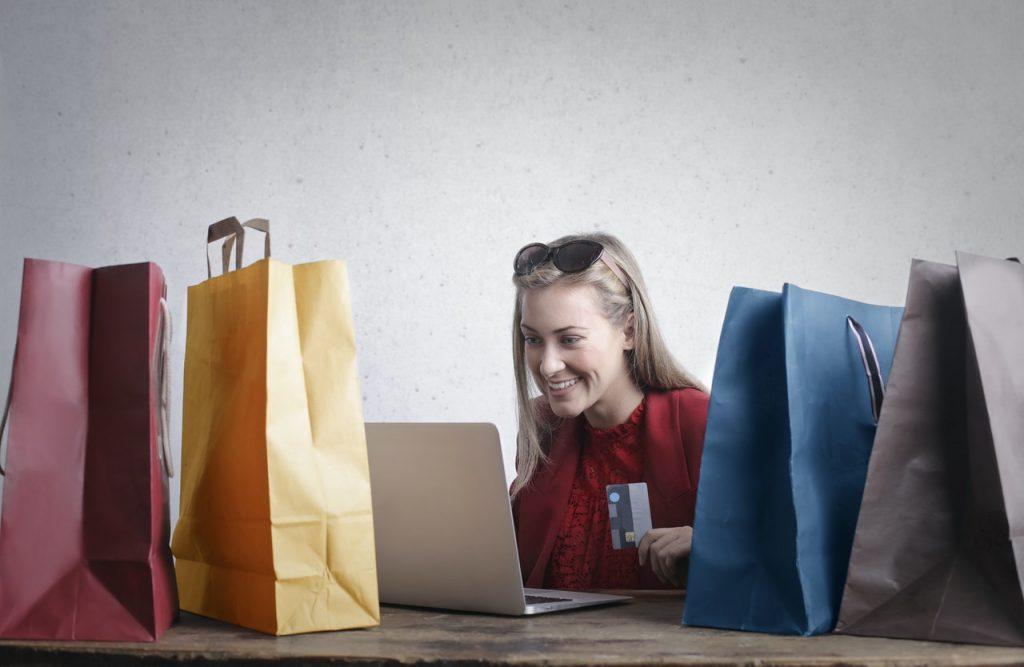 online shopping splurge